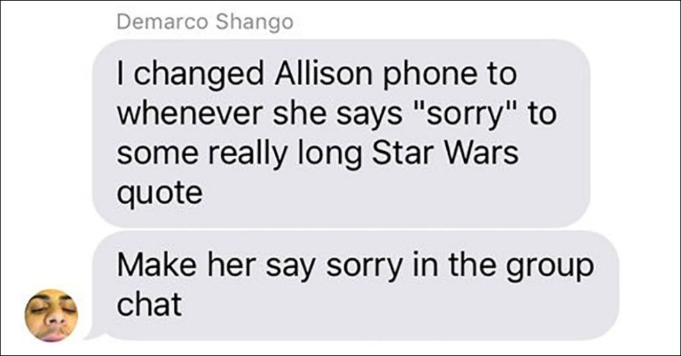 The Force Is Strong With This Guy's Hilarious 'Star Wars' Texting Prank