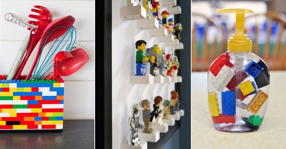 Creative and Practical Ways To Use LEGO Around the House (Without Stepping On Any!)