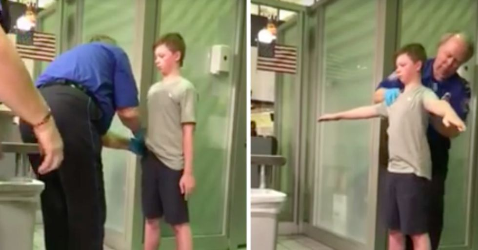 This Mom Is LIVID Over Son's 'Horrifying' Detainment by TSA