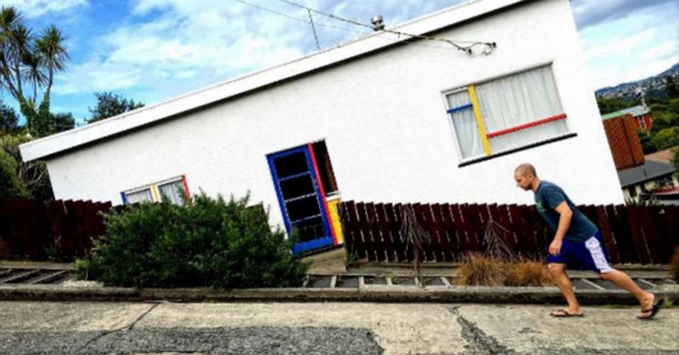 This Isn't an Optical Illusion...This Is What Life Looks Like On the World's Steepest Street