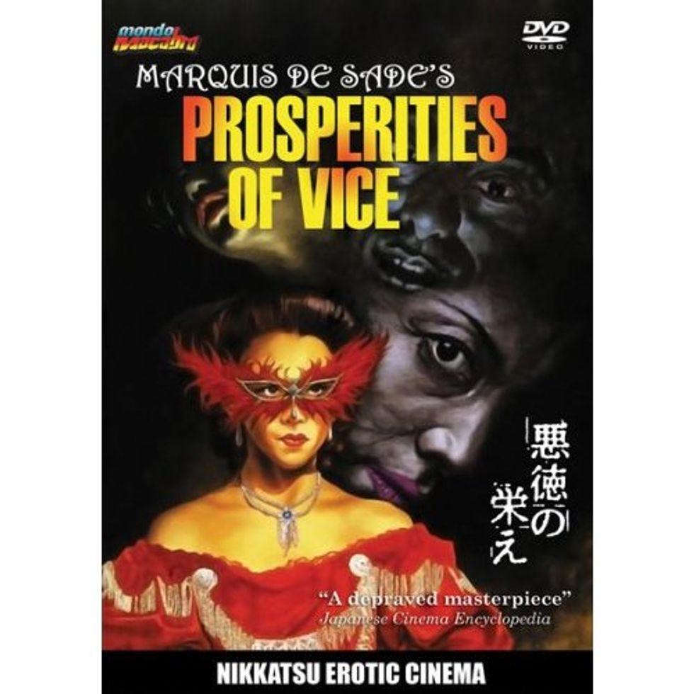 Marquis De Sade's Prosperities Of Vice On DVD!