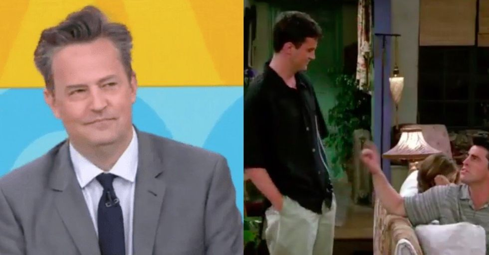 Matthew Perry Revealed His Favorite Chandler Bing One-Liner and It's a Good One