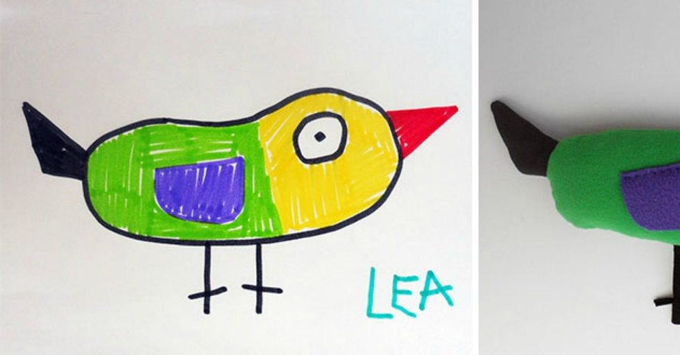This Artist Turns Kids' Drawings Into INCREDIBLE Real-Life Creations