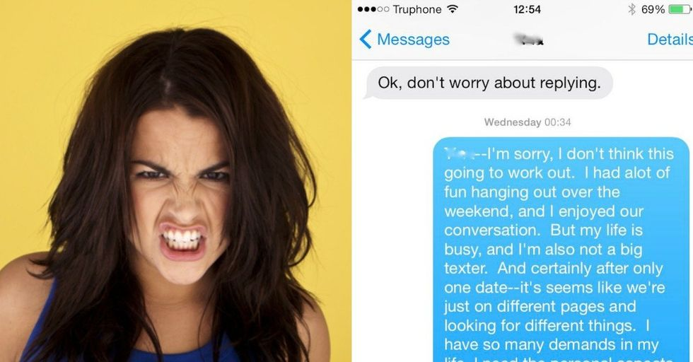 The Craziest Woman on Tinder Just Outed Herself in This Text Thread