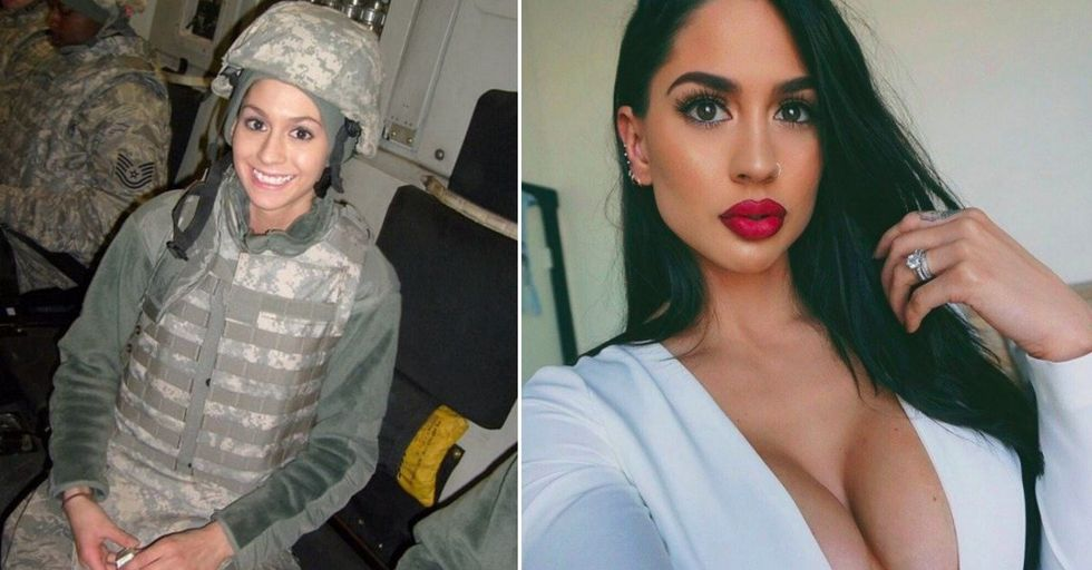 This Afghan War Army Veteran Is Now a Badass Instagram Model