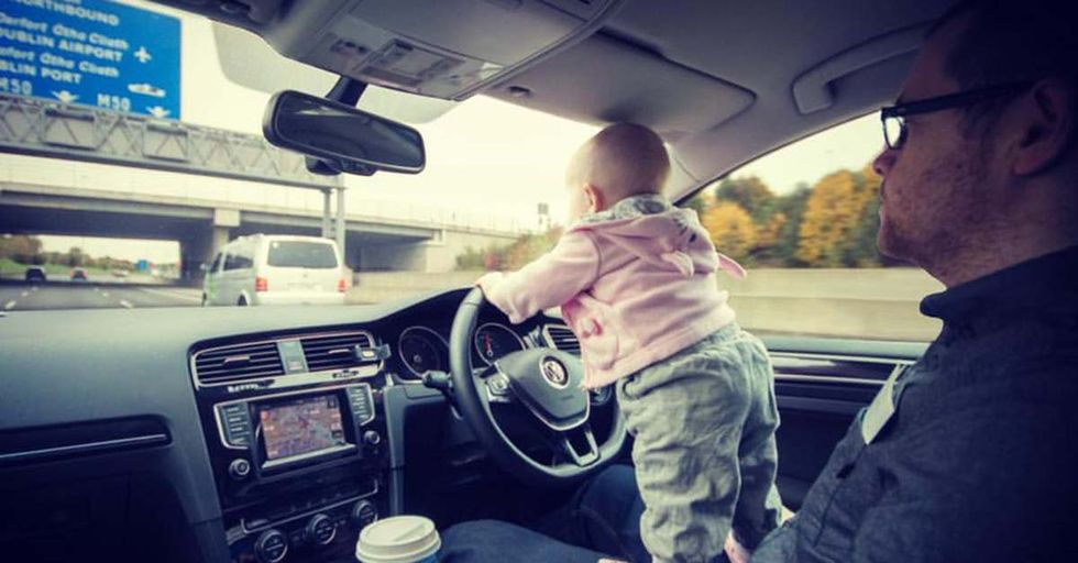 This Dad Uses His Photoshop Skills To Put His Daughter In Some VERY Dangerous Situations