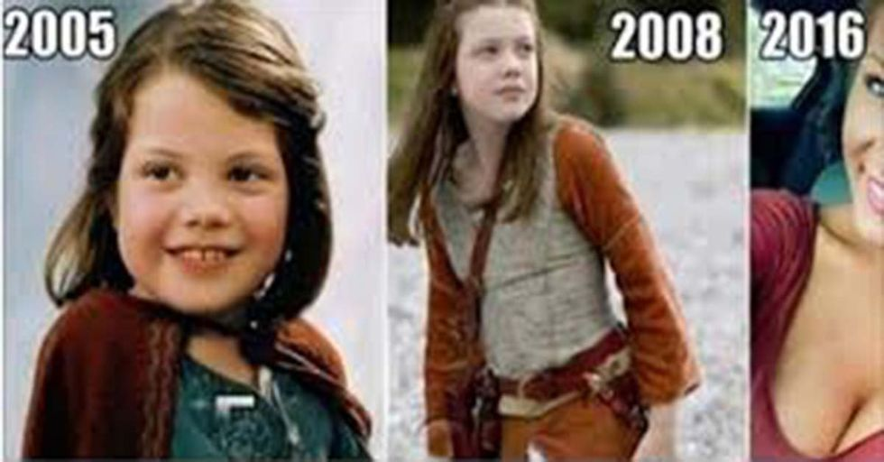 Lucy From 'The Chronicles of Narnia' Is All Grown Up...See What She Looks Like Now!