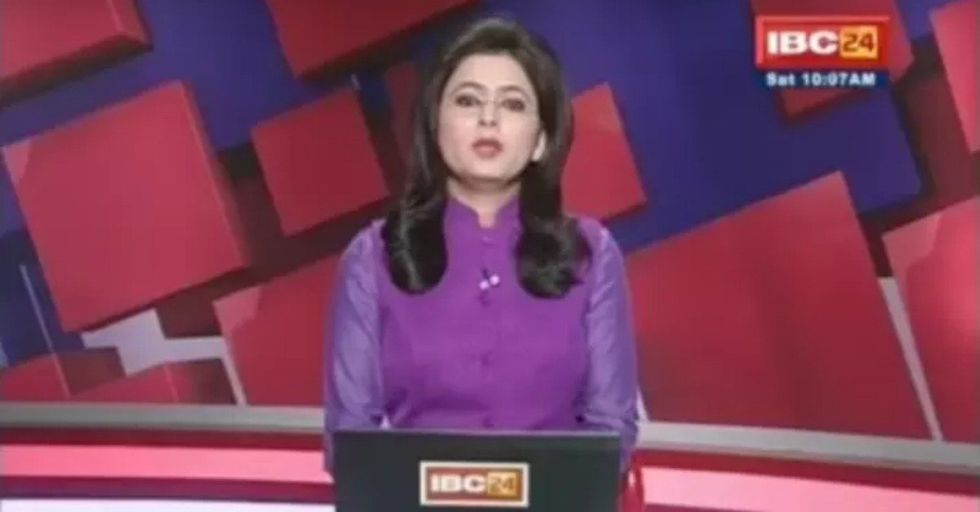 News Anchor Discovers Her Husband Has Died As She Reports On Live TV