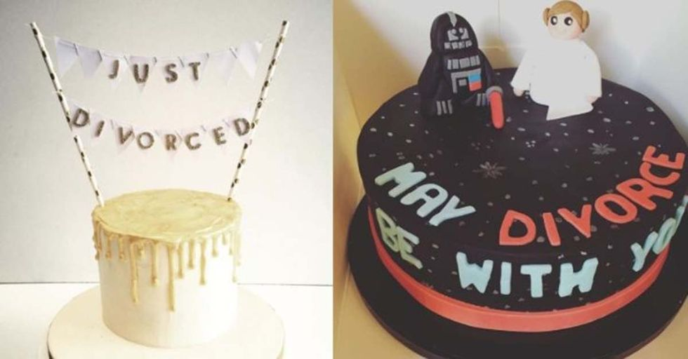 17 Awesome Divorce Cakes That Remind Us Splitting Up Doesn't Have To Be Sad