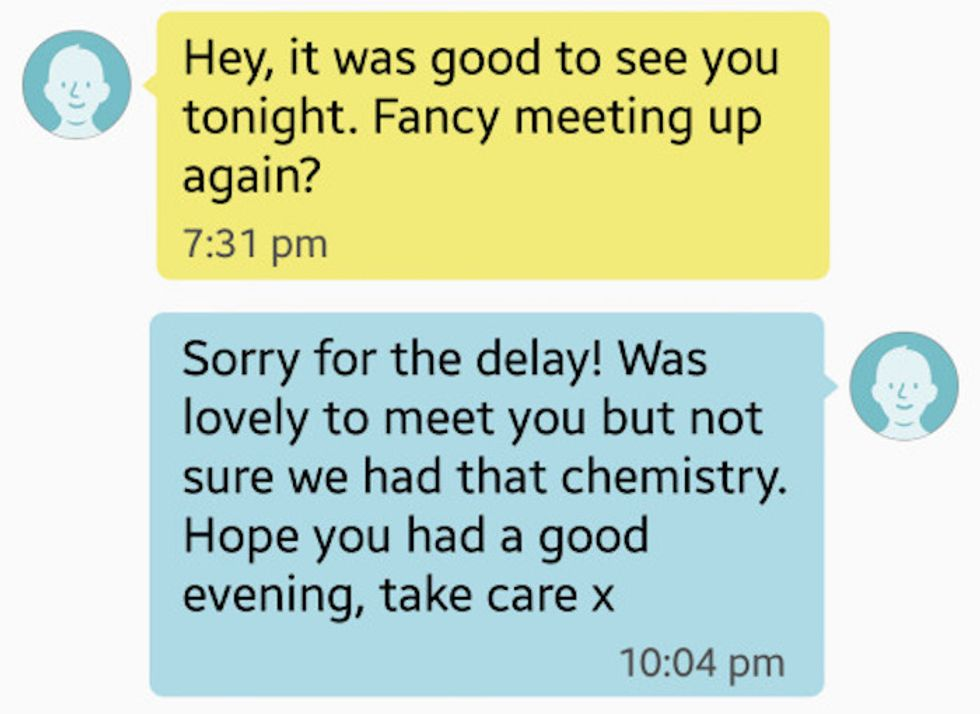 Woman Perfectly Shuts Down Cheap Tinder Date
