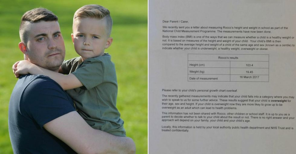 Dad Is FURIOUS After Getting School Letter That His 'Picky Eater' Son Will Be Obese