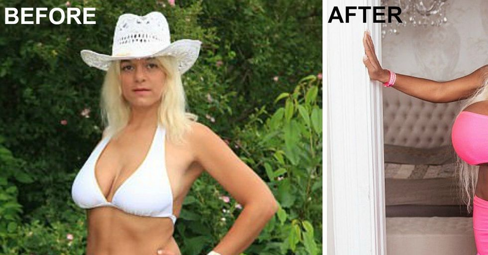 This Woman Has Spent Thousands of Dollars Turning Herself Into 'Exotic Barbie'