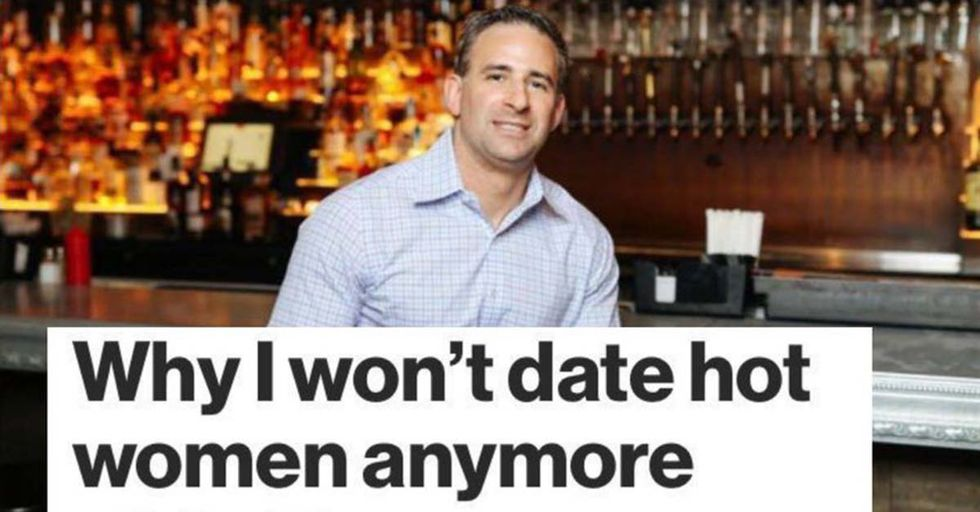 This Guy Wrote an Article Why He's Done Dating 'Hot Women', and Twitter Can't Stop Mocking Him