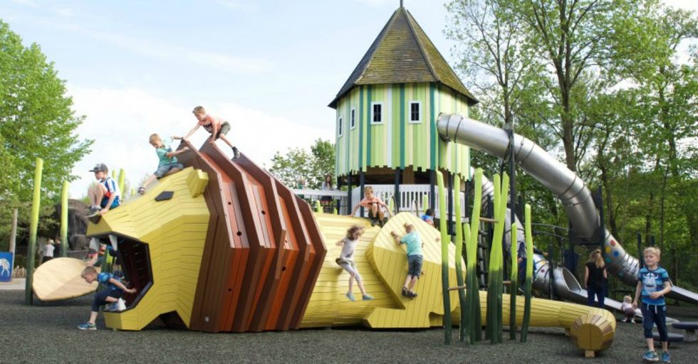 These 35 AWESOME Playgrounds Are the Coolest Things You've EVER Seen