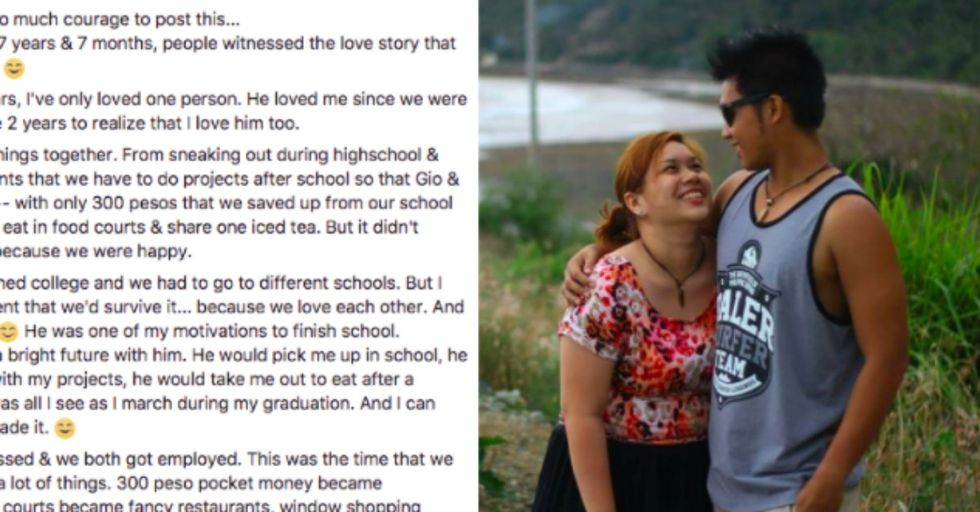 This Woman's Breakup Post Is Going Viral For the Best Reason