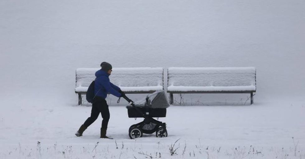 Parents Are Leaving Their Infants Out In Freezing Temperatures For the Most Fascinating Reason