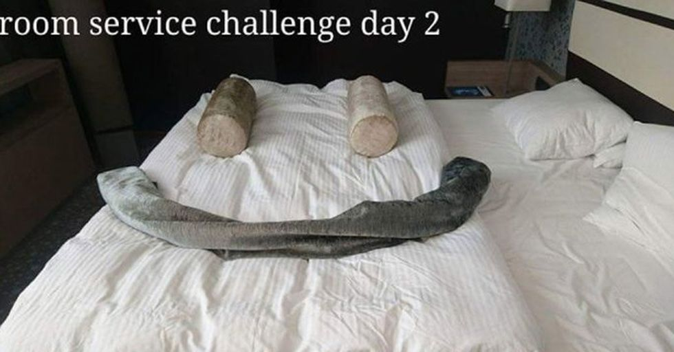 A Hotel Guest Started a VERY Creative Competition With the Housekeepers, and the Results Are Amazing