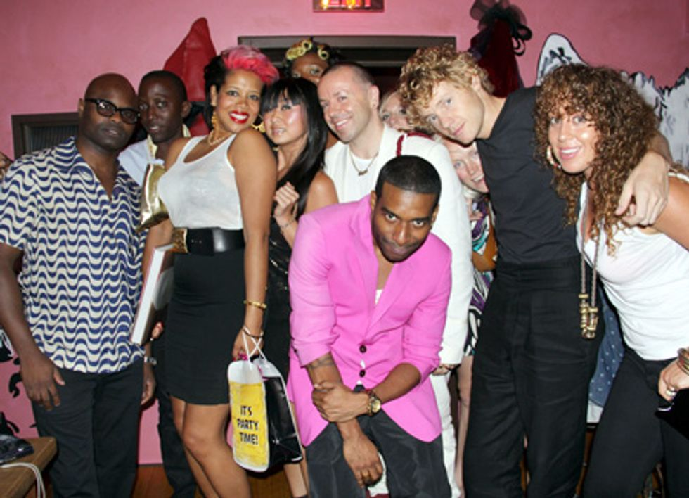 About Last Night... Kelis's Birthday Party at Hotel Griffou
