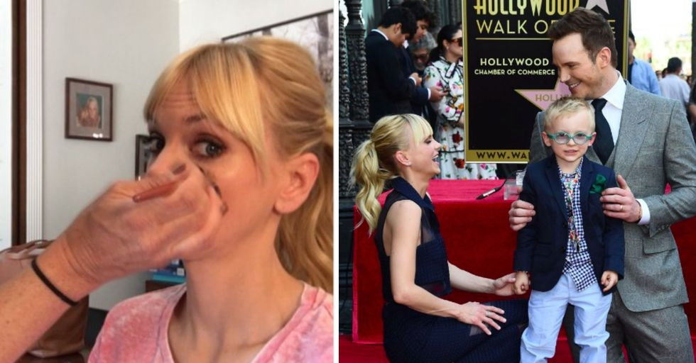 Anna Faris Live-Tweeted Chris Pratt's Big Day and It's Kind of Amazing