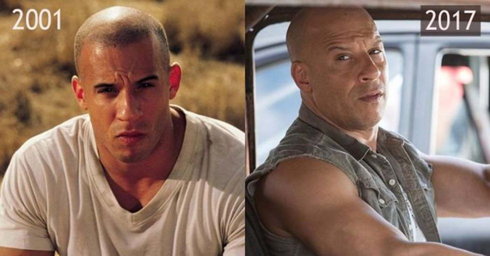 17 Years After the Franchise Started, See How the 'Fast and the Furious' Stars Look Then vs. Now