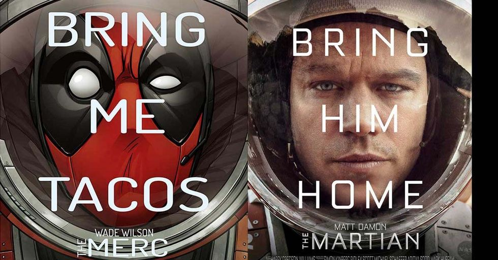 Hollywood Blockbusters Get Hilariously Reimagined With These Clever Parody Posters