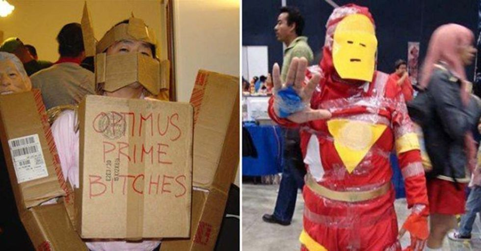 These Terrible Cosplay Outfits Might Not Win Any Awards, But They're Great For a Laugh