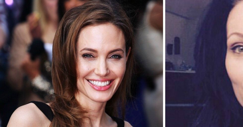 This Mom Looks SO Much Like Angelina Jolie She Gets Stopped All the Time