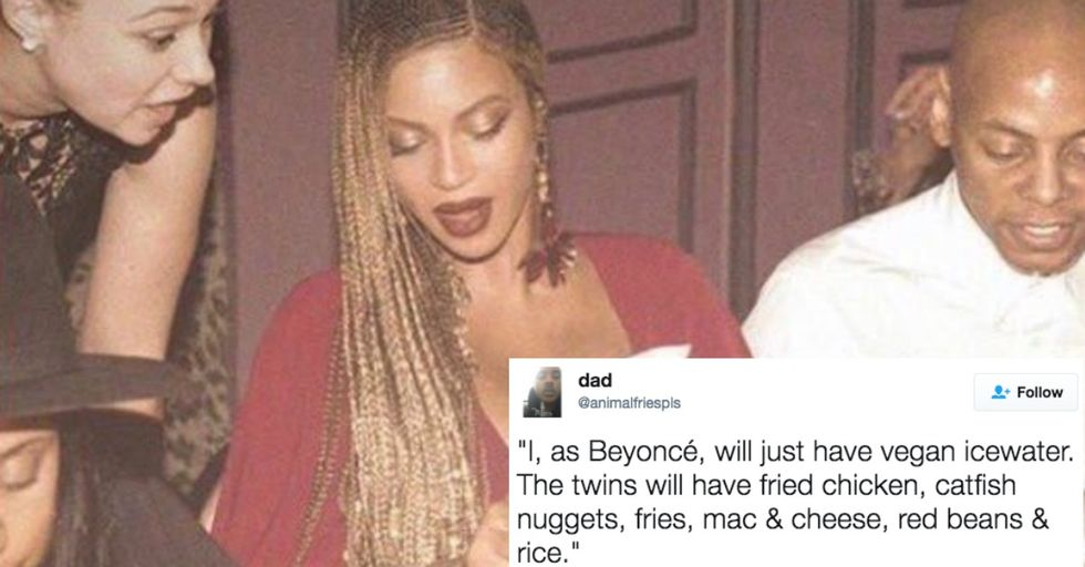 Beyoncé Can't Even Order a Meal Without Becoming a (Hilarious) Meme
