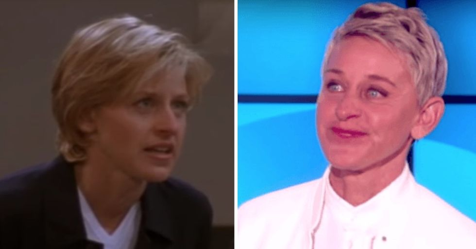 Ellen Got Emotional Talking About the 20th Anniversary of Her Coming Out