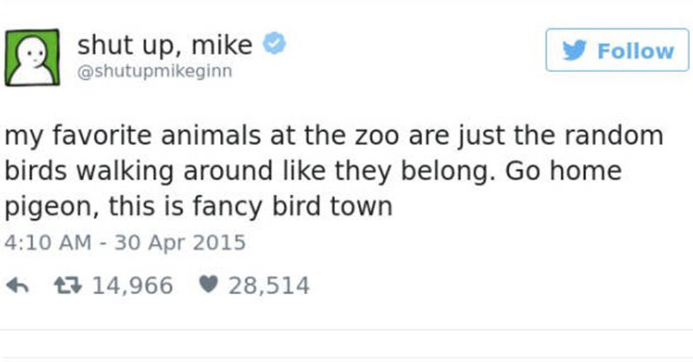 'Shut Up, Mike' Might Just Be the Funniest Twitter Account You'll Ever See