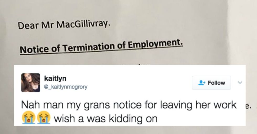Grandma Quits 'Crap' Job With Hilariously Savage Resignation Letter