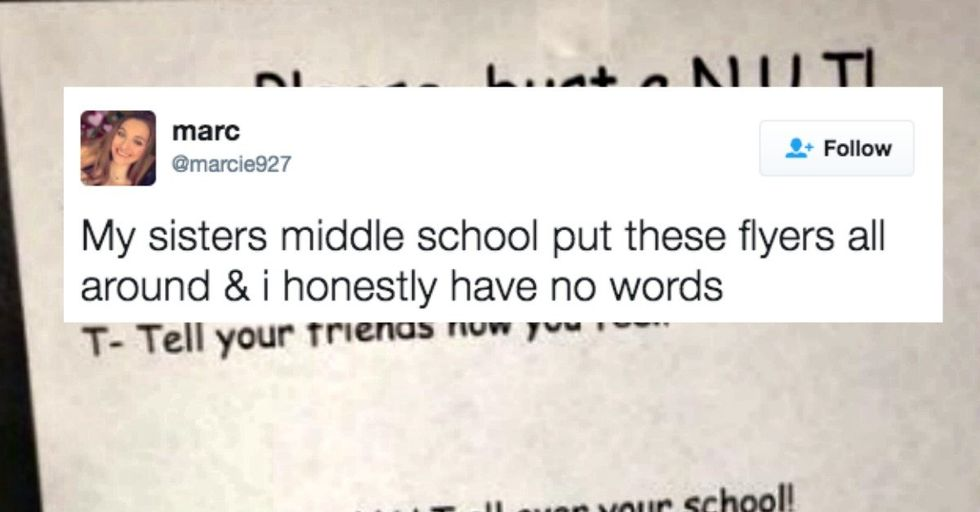 Teacher Accidentally Creates Wildly Inappropriate Sign While Trying to Be Cool