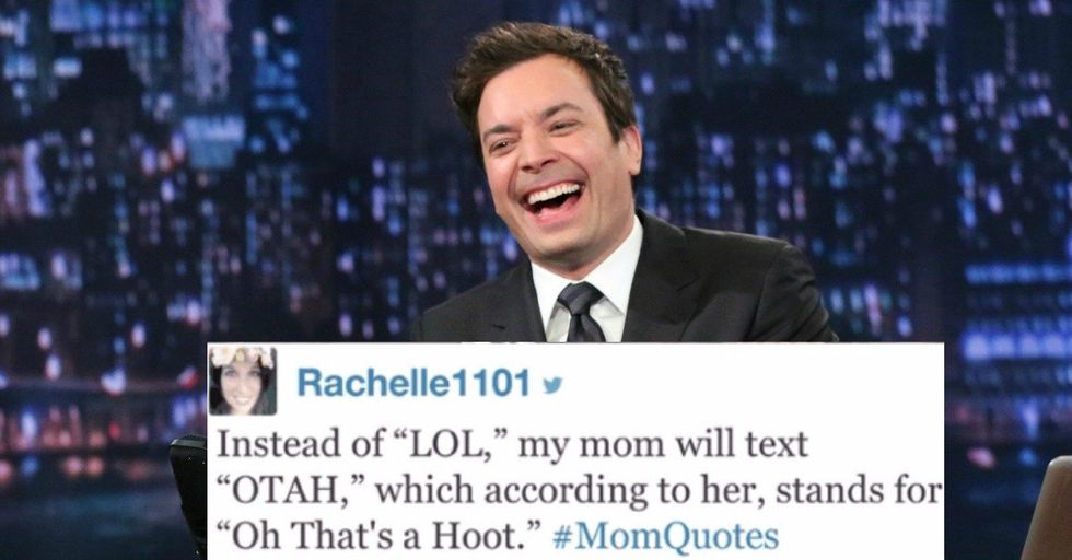 Jimmy Fallon Reads Twitter's Most Hilarious #MomQuotes