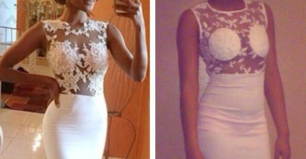 These Online Wedding Dress Fails Make the Case For Always Buying In Person