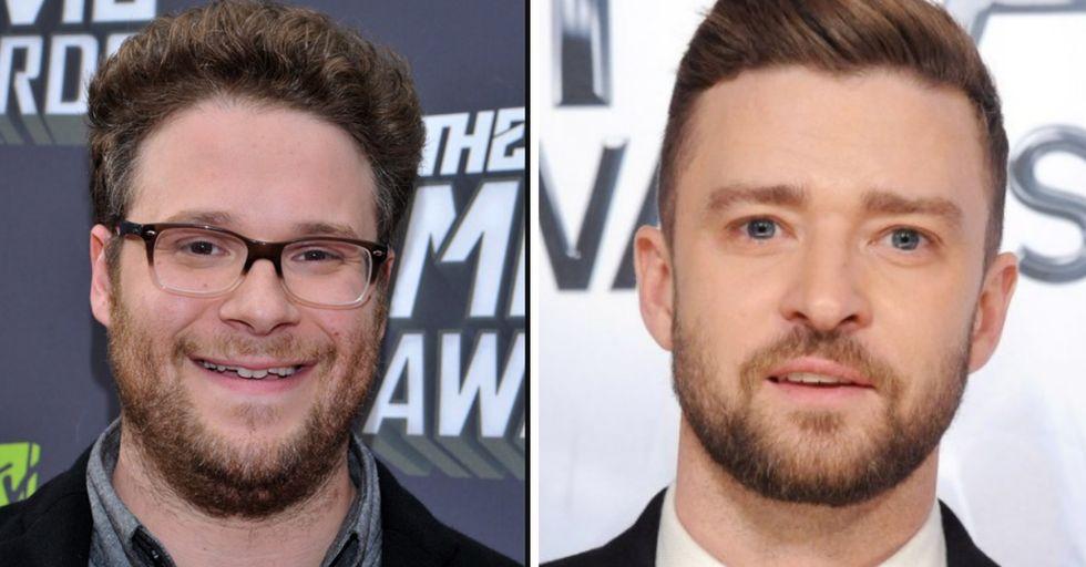 Justin Timberlake Has Perfect Response To Seth Rogen's Hilarious 'Couples' Tweet