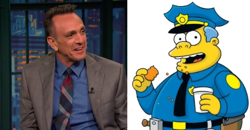 Watch Hank Azaria Hilariously Perform His 'Simpsons' Character Voices In Under One Minute