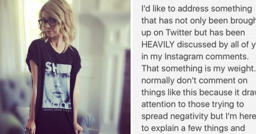 'Modern Family' Star Sarah Hyland Silences Body Shamers With Emotional Must-Read Letter