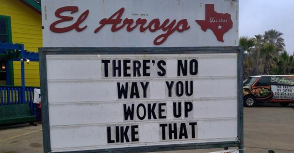 This Texas Restaurant Has Become Legendary For Its Consistently Hilarious Signs
