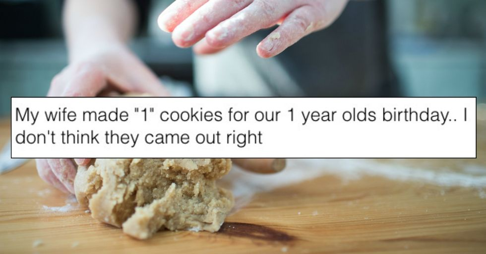 These '1st Birthday' Cookies Are Either an Inappropriate Joke or an Innocent Mistake
