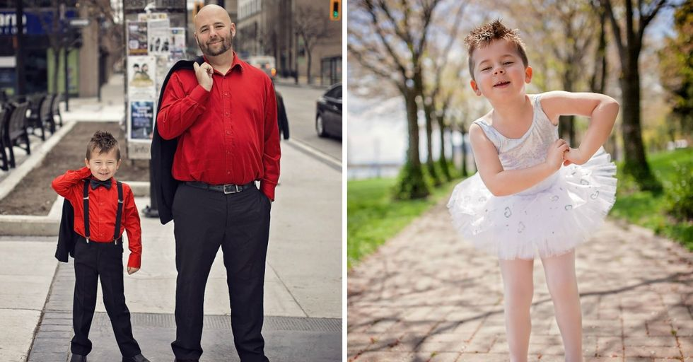This Mom Is Defending Her Young Son's Right To Wear a Dress