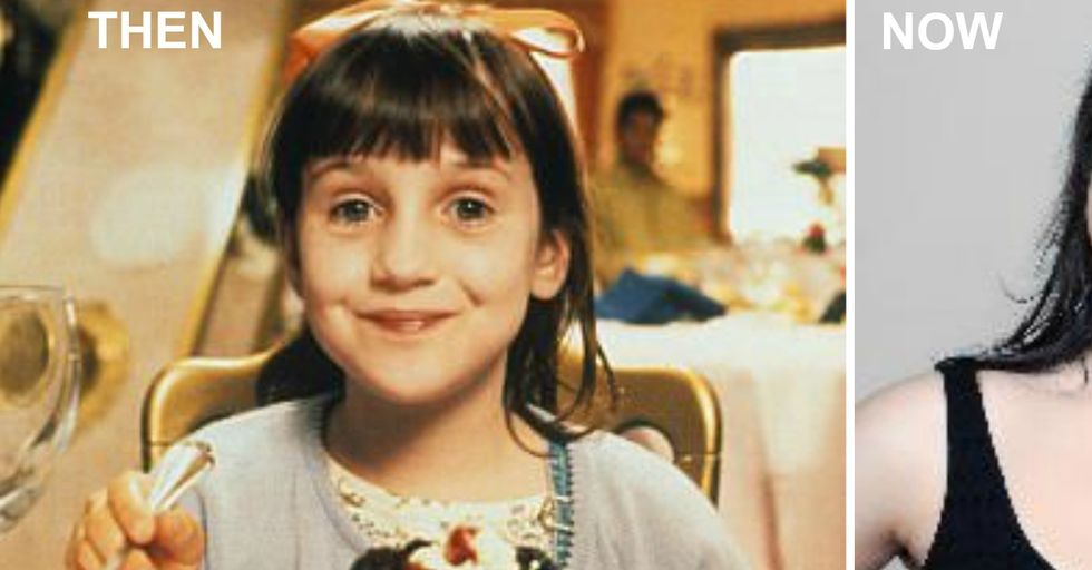 The Girl Who Starred In 'Matilda' Looks DRAMATICALLY Different Today