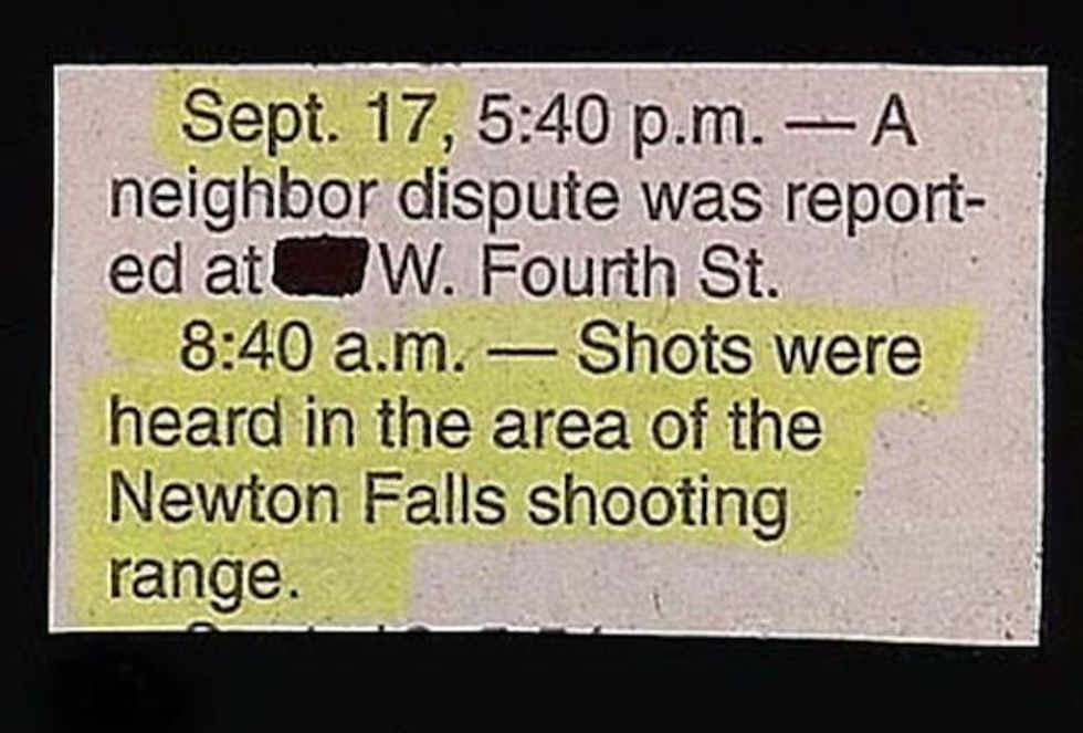 16 Times Police Blotters Made Comedy Gold Out of Hilarious 'Crimes'