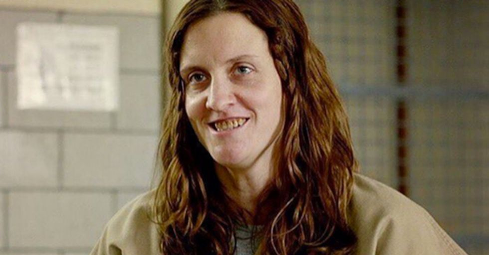Angie From 'Orange Is the New Black' Looks TOTALLY DIFFERENT Out of Costume