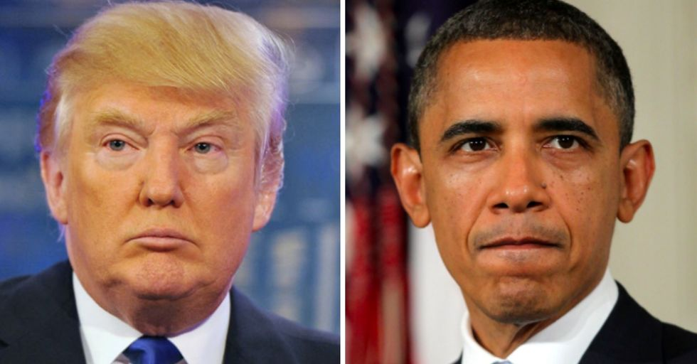 Trump's Latest Twitter Rant Takes Aim and Blame at Obama...Again