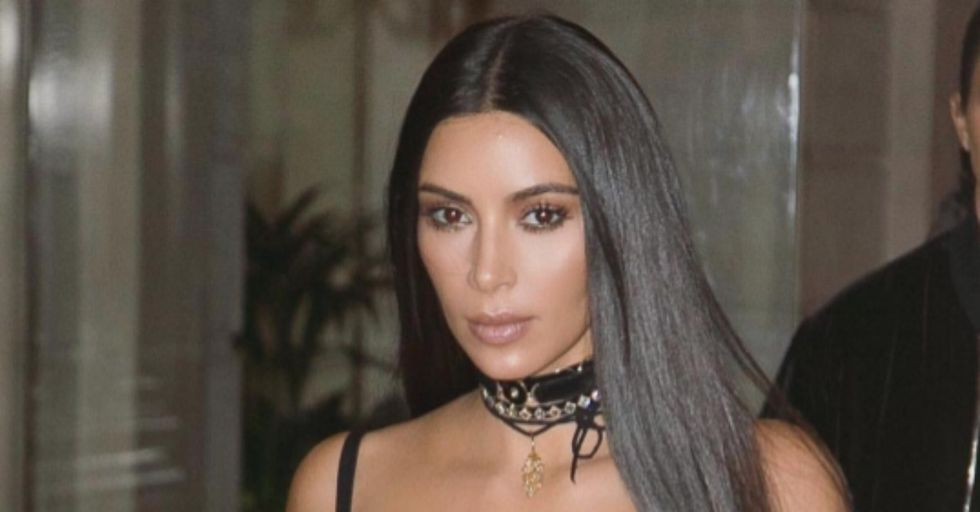People are Slamming Kim Kardashian For This Picture of Her Son Saint