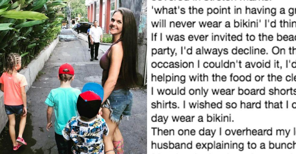 Mom's Relatable Insecurity Was Erased With One Comment From Her Husband