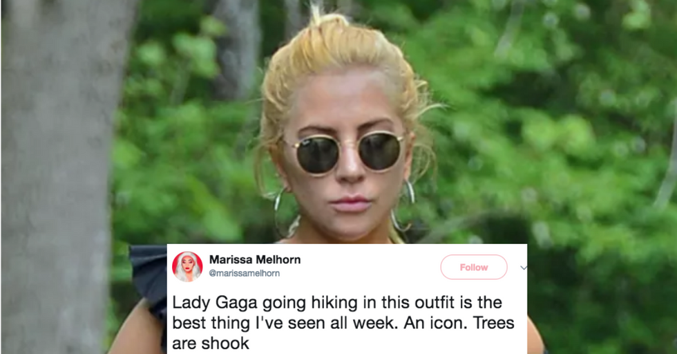Lady Gaga's Choice of Hiking Gear Is Everything