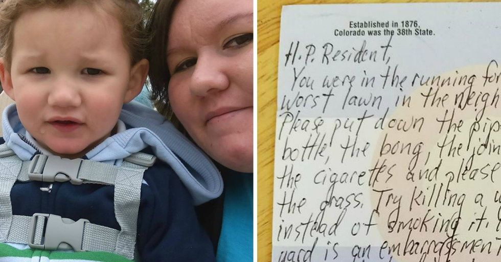 Single Mom Gets Hateful Note From Neighbors Who Have NO Idea About Her Story