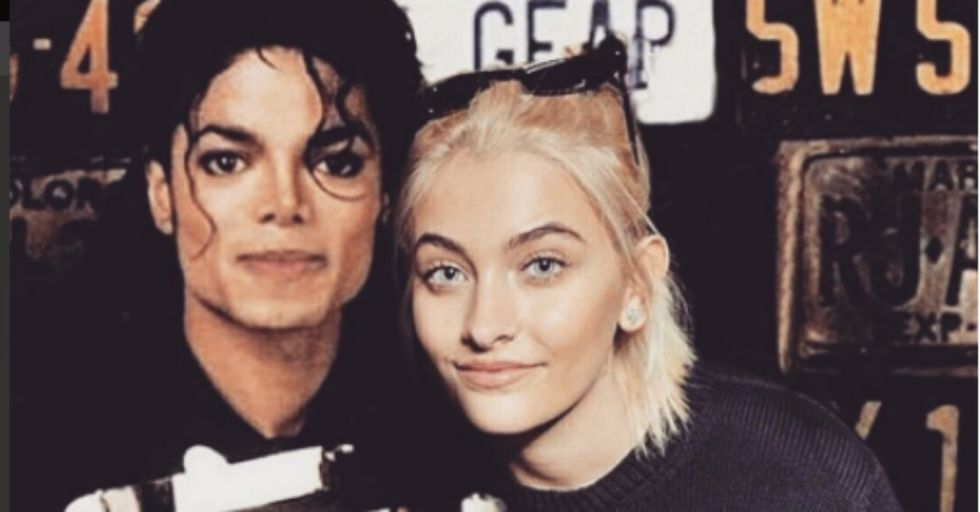 Paris Jackson Honors Late Dad Michael With Perfectly Chosen Tattoo