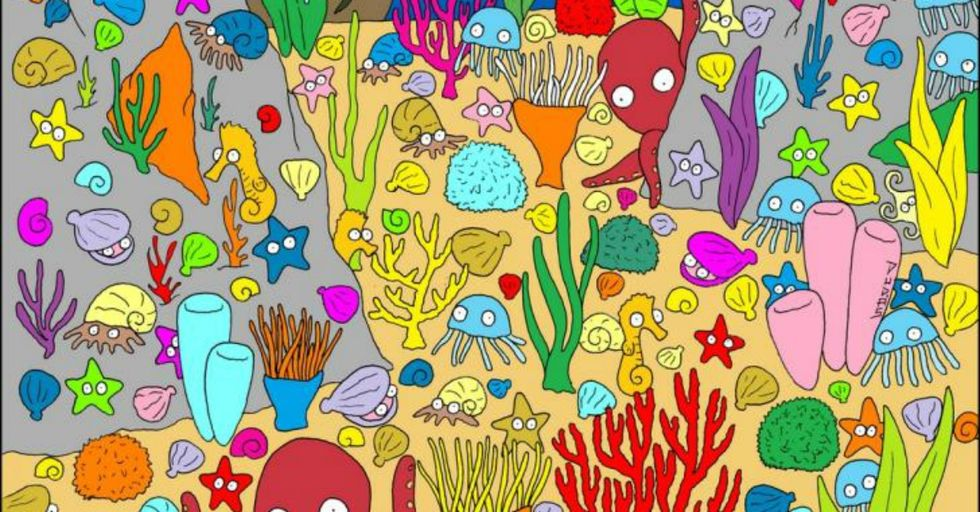 Are You Sharp Enough To Find the Fish at the Bottom of the Ocean?